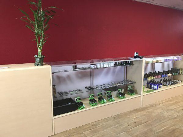 Inside Glendale CBD Dispensary