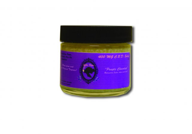 Janevape 400 mg CBD Salve purple chocolate