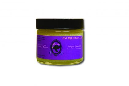 Janevape 200mg CBD Salve Purple Chocolate