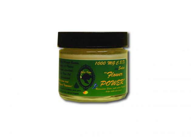 Janevape 1000mg CBD Salve Flower Power
