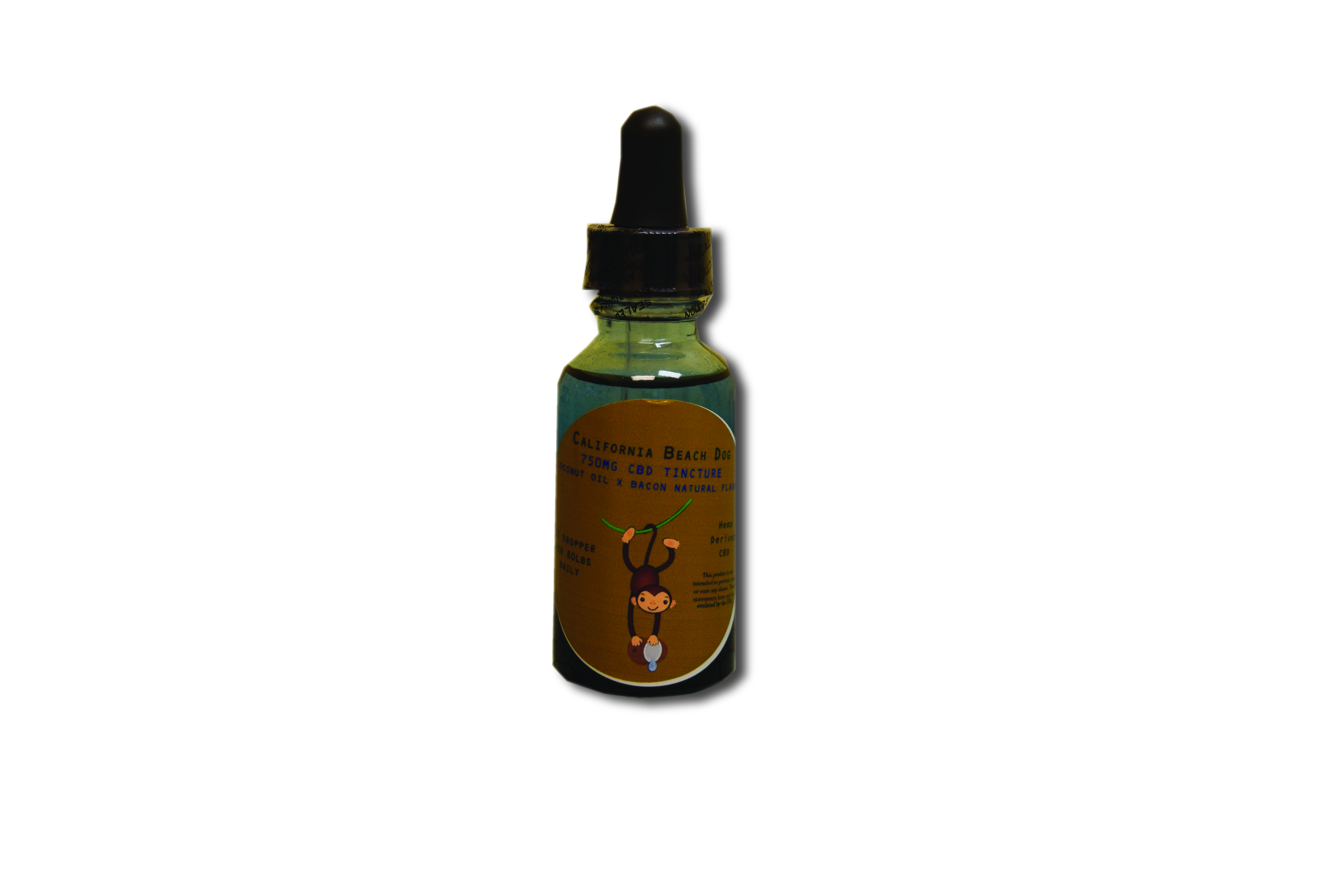 750 mg Bacon CBD for Pets California Beach Dog
