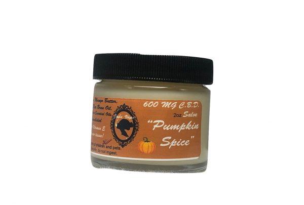 pumpkin cbd salve