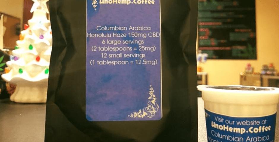 uno hemp coffee with cbd
