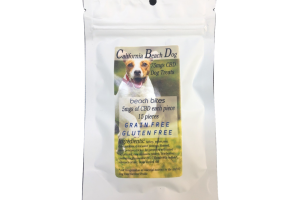california beach bites cbd dog treats
