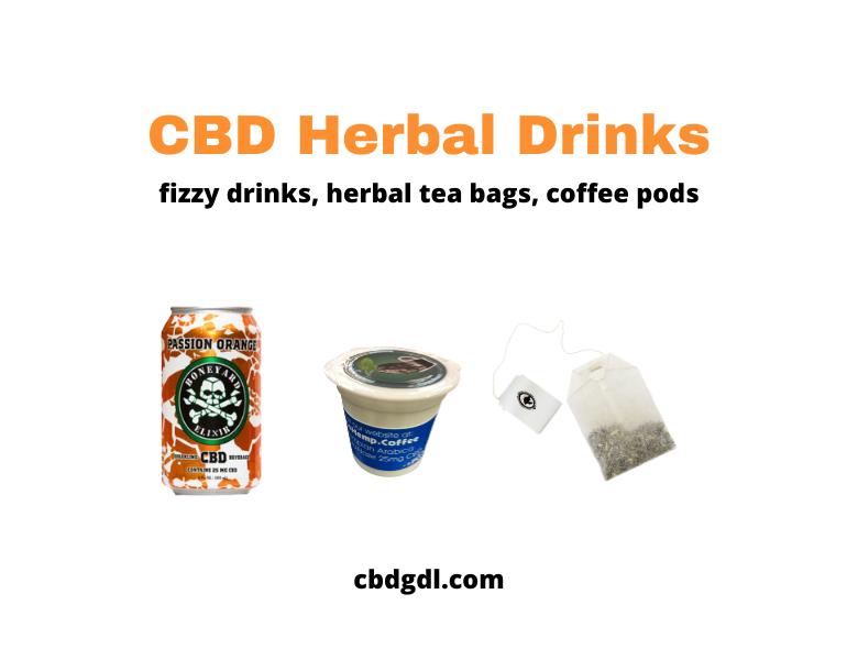 herbal drinks with cbd