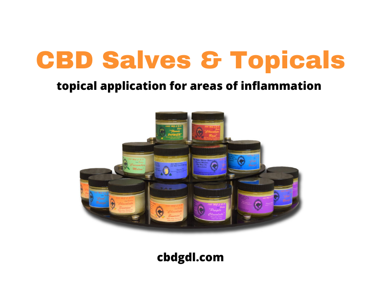 salves and topicals cbd